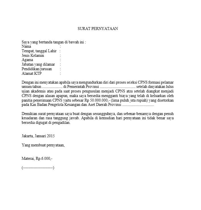 30+ Contoh surat pengunduran diri ujian nasional terbaru yang baik dan benar
