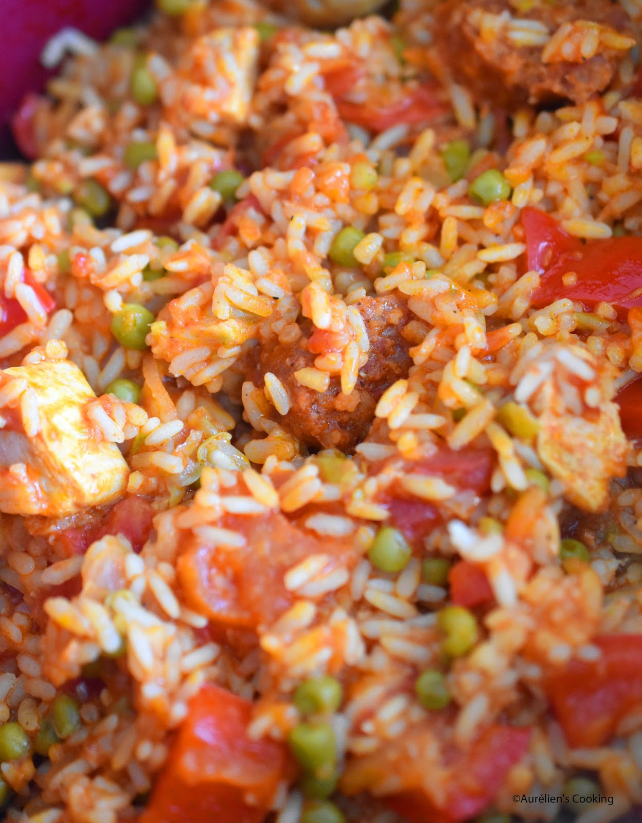 Connu Aurélien's Cooking: Paëlla carnivore express au Micro Minute  PA48