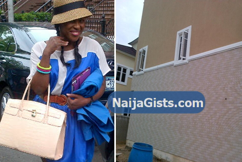 uche jombo new house photo