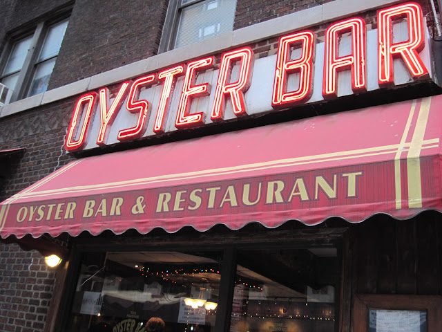 From the outside the Oyster Bar looks like just another Old New York restaurant