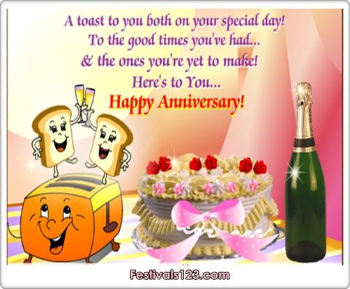 Happy Anniversary ~ Wedding Anniversary Cards