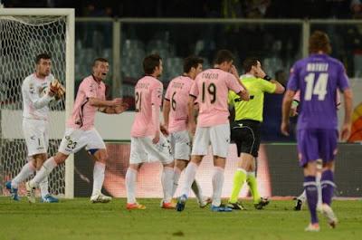 Fiorentina Palermo 0-0 highlights