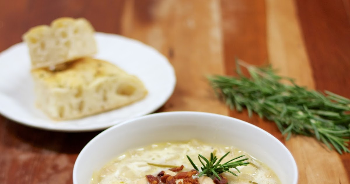 Souper Sunday: White Bean Soup with Rosemary and Bacon
