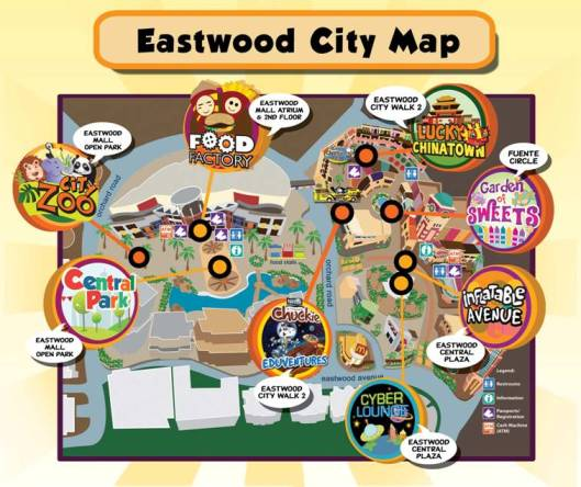 EASTER WONDERLAND Map