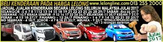 1-31/7/17 JADUAL 61 JUALAN KENDERAAN LELONG SELURUH MALAYSIA,SEKITAR KLANG VALLEY-SELANGOR/K LUMPUR