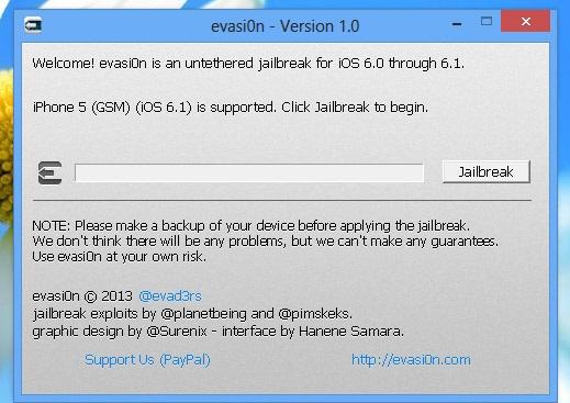 evasi0n jailbreak ios 6.1