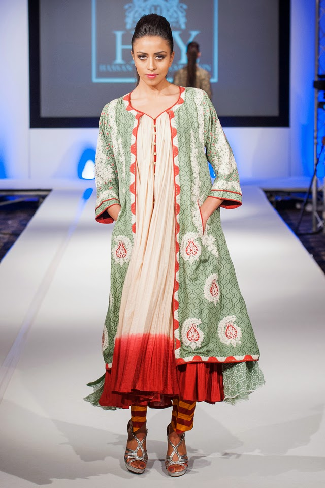 Hsy Show At Pakistan Fashion Extravaganza London 2014 Ooooch
