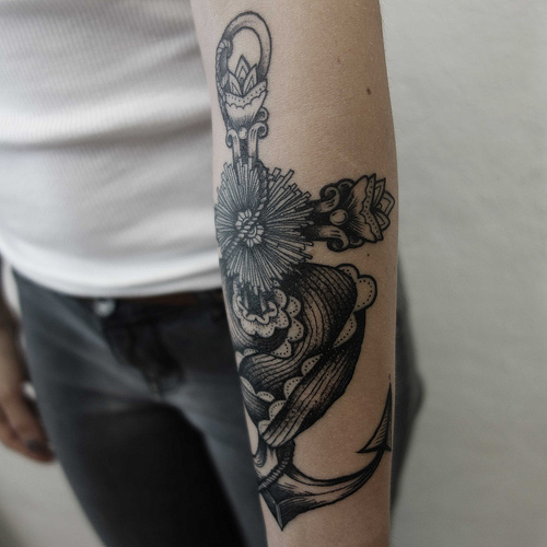 significado tatuaje ancla, http://distopiamod.blogspot.com.es