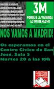 Manifestación por el derecho a la vivienda #LeyViviendaPah