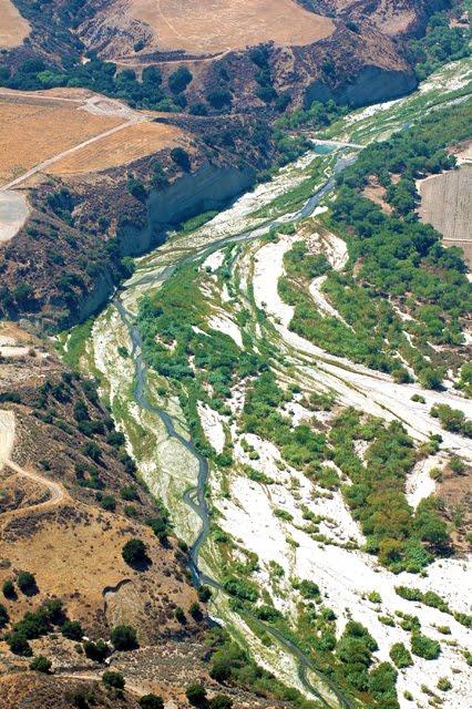 View of the Santa Clara River, Los Angeles County, California