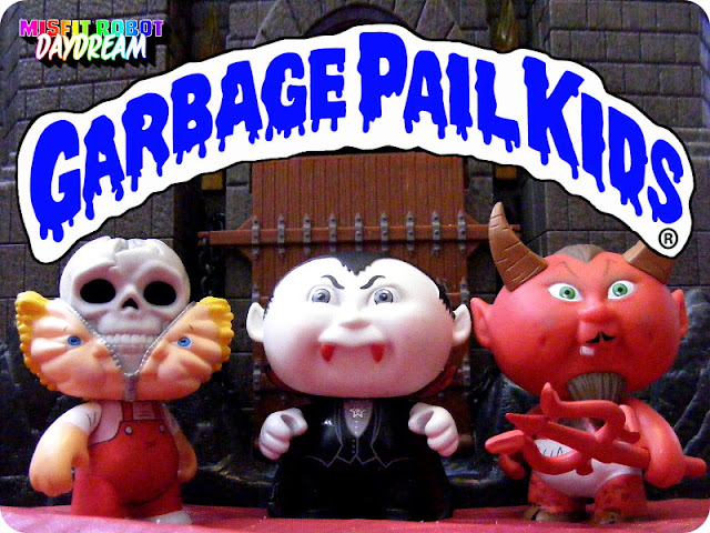 Garbage Pail Kids: Bony Tony, Nasty Nick, and Hot Scott