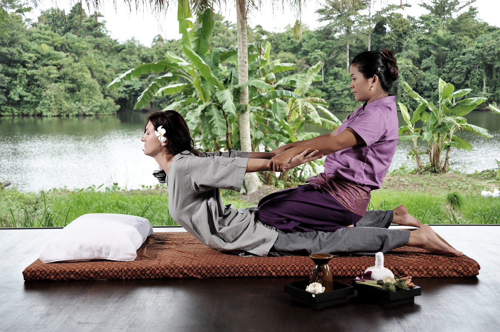 Aroma therapy and professional massage in Phuket