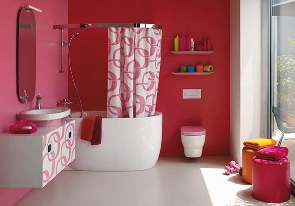Ubicacion Baño Feng Shui:Pink Bathroom Ideas