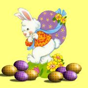 Los huevos y el conejo de Pascua dibujos infantiles conejo pascua