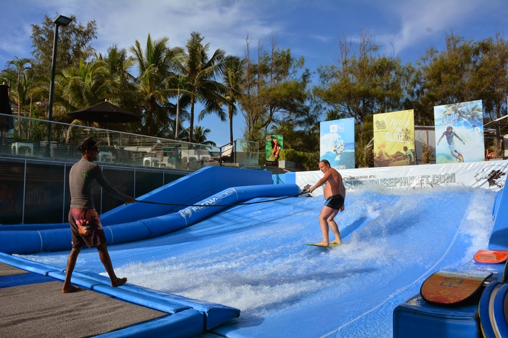 Travels - Ballroom Dancing - Amusement Parks: Flowriders at the Surf House, K...