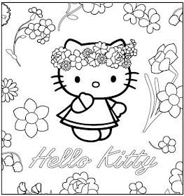 Desenhos Para Colorir o it hello kitty