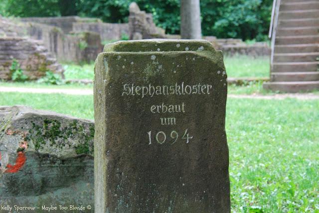 Stephanskloster, Phisopheweg, Heidelberg, Philosopher's Way, St. Stephan's Monastery