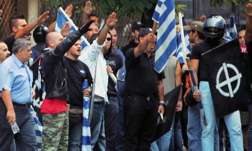 Linea rossa napoli blocca i fascisti alba dorata for Gruppi politici italiani