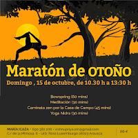 Maratón de Otoño 15 de Octubre