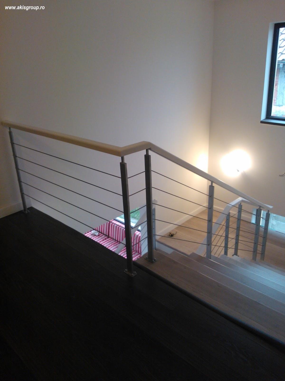 Geländer aus Schmiedeeisen: Kabel Geländer