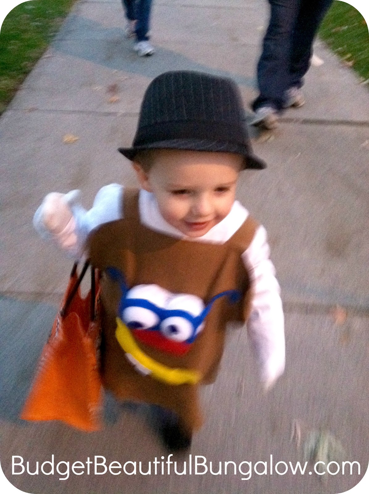 now i love to craft and create but im no seamstress the idea for the mr potato head costume was sparked by my little spud himself