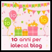 Partecipo ai 10 anni di blog di