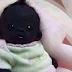 بالفيديو والصور- أغمق طفل في العالم ولد في جنوب افريقيا.. سبحان الله