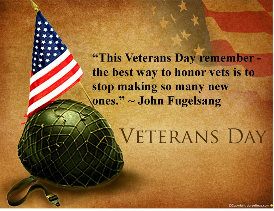 Weber County Forum: Veterans Day Federal Holiday 2012 Special