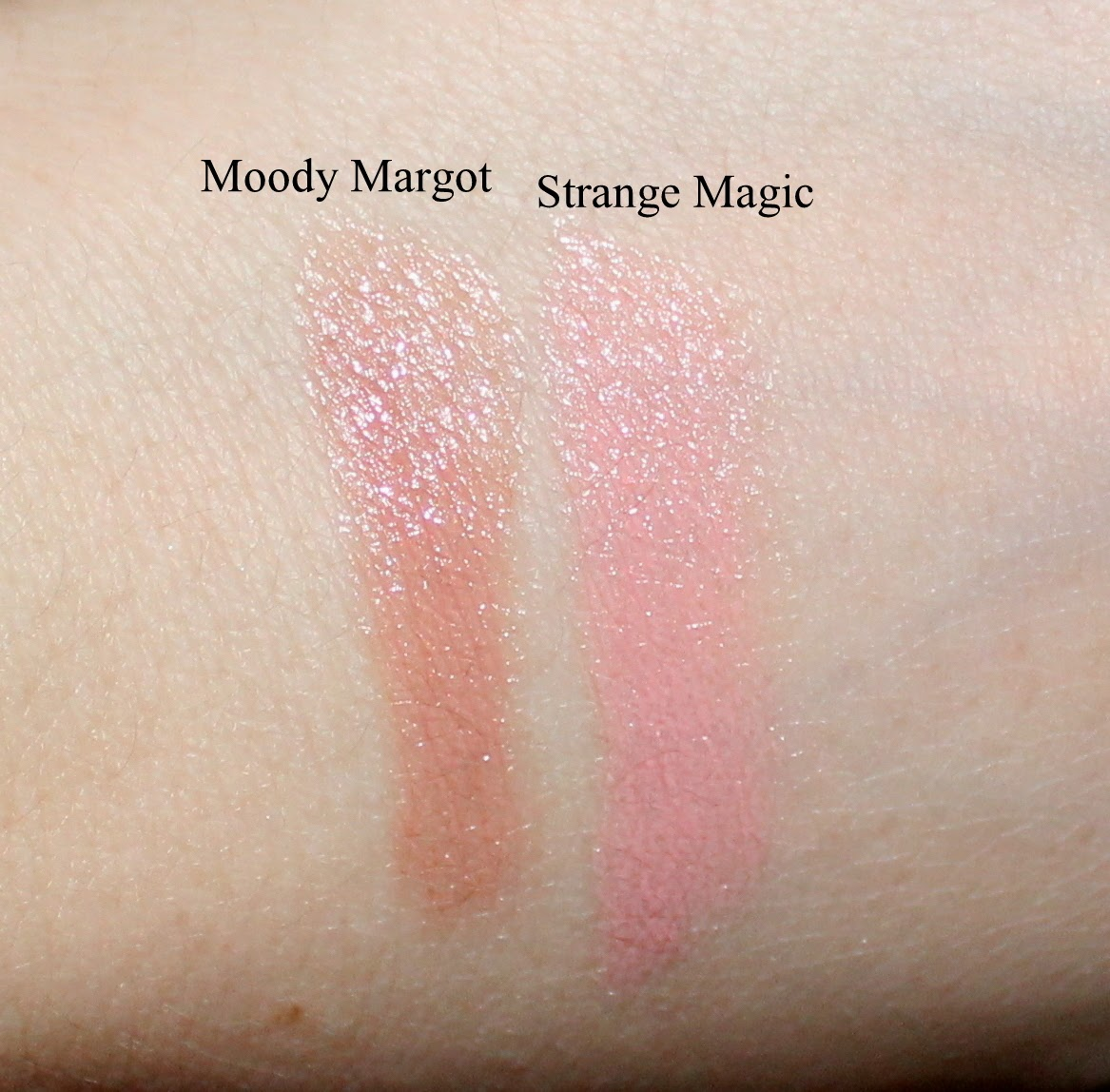 Marc Jacobs New Nudes Sheer Lip Gel in Moody Margot & Strange Magic