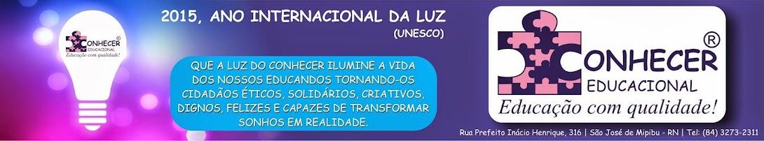 Blog do Colégio Conhecer Educacional, Mipibu, RN, Brasil.