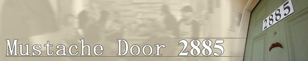 Mustache Door 2885