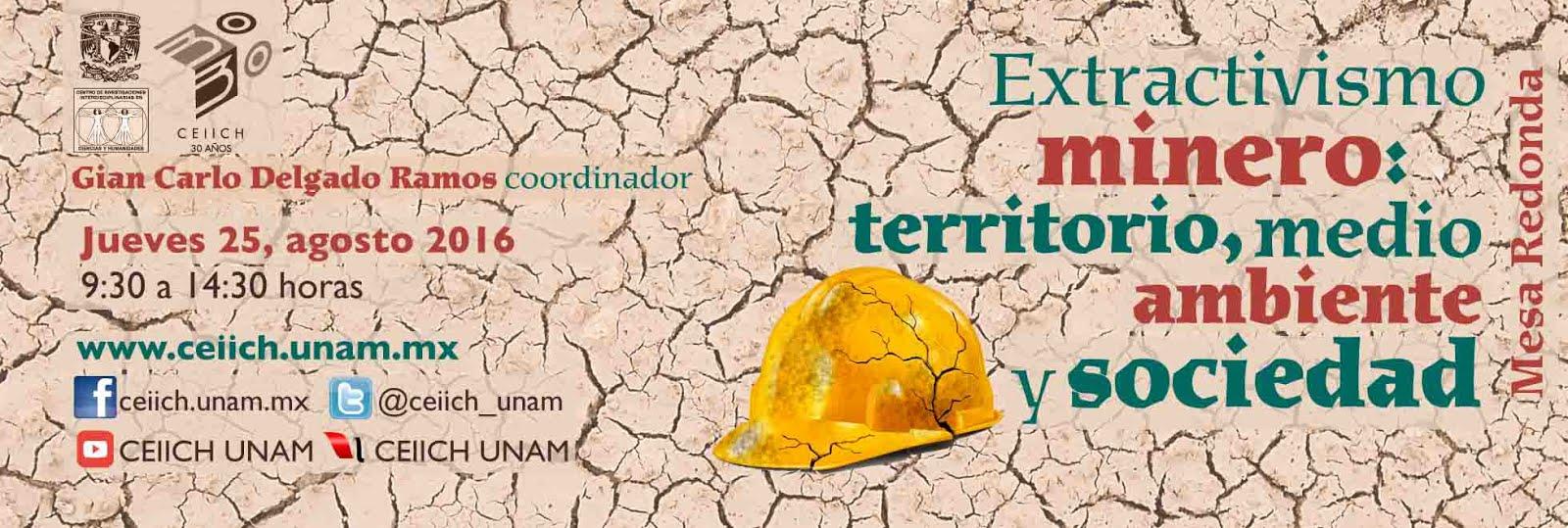 Extractivismo minero: territorio, medio ambiente y sociedad