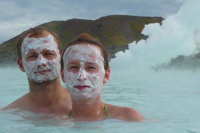 Gorące źródła na Islandii - Kartki z Podróży