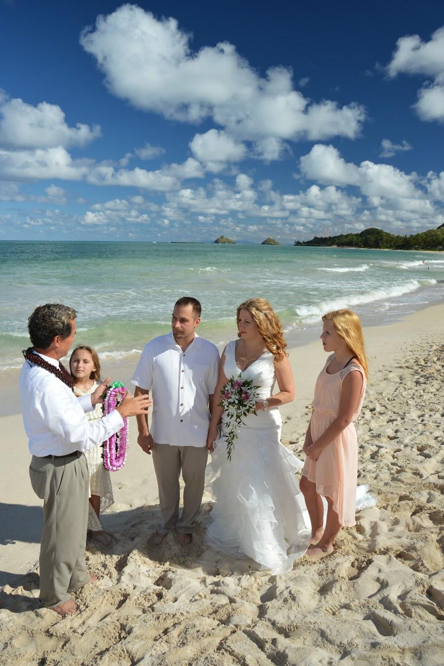 Kailua Beach Wedding