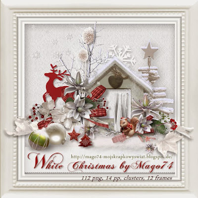"""Free scrapbook kit """"Winter Time"""" by Scrap For You and Me"""