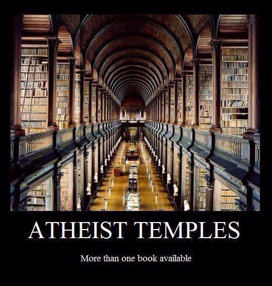 Templos ateísmo