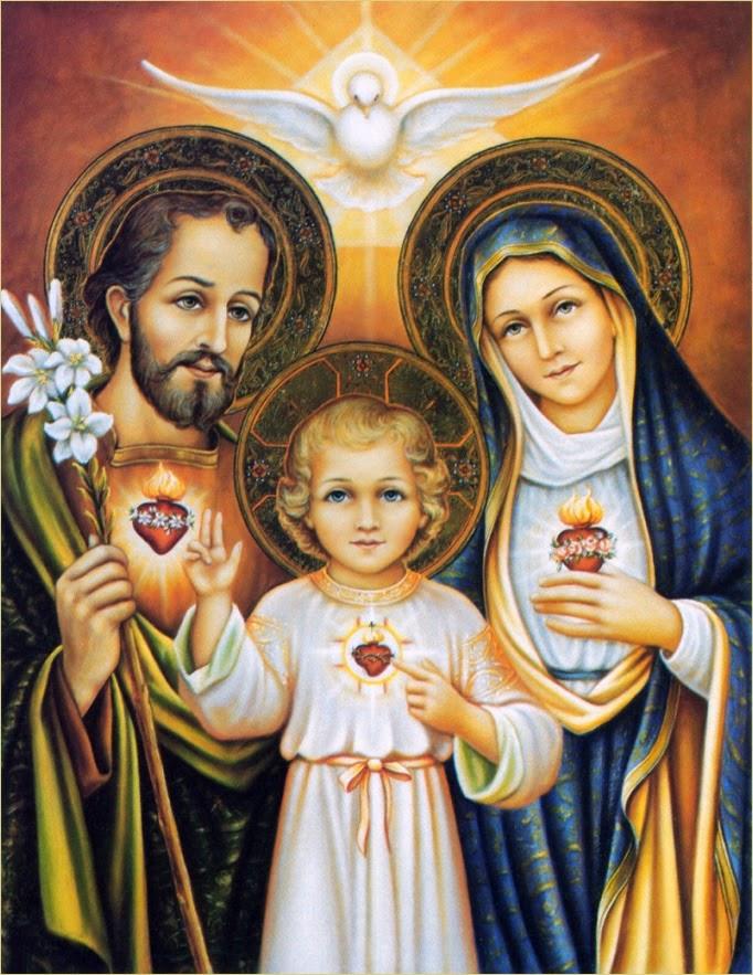 Ángeles y Santos: Del amor de San José a Jesús y María