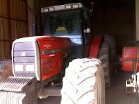 Trattore agricolo Massey Ferguson 8120