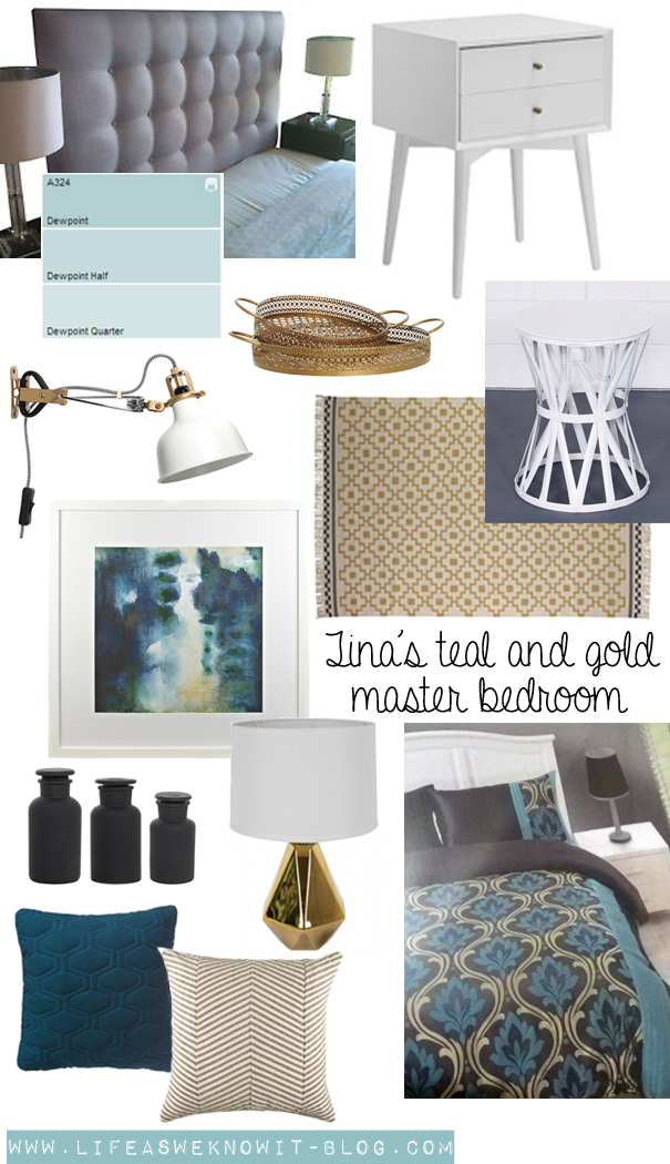 Tina Mentioned That She Wanted To Paint Her Bedroom A Pale Teal Compliment Bedding Duluxs Dewpoint Quarter Strength Would Be Great Shade