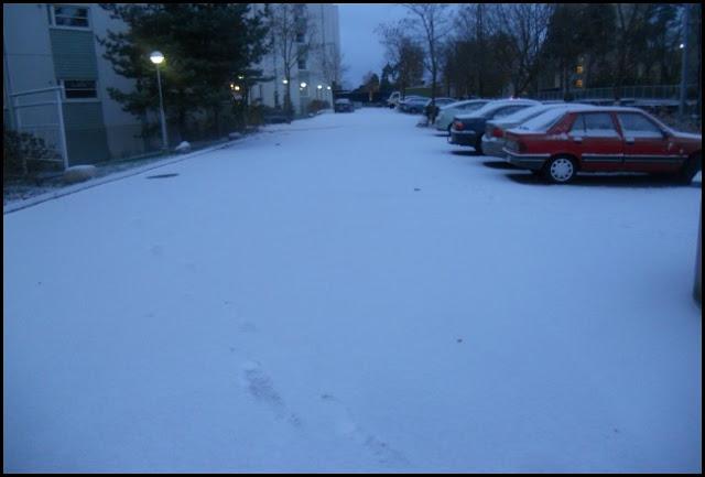 Missä lumi ja talvi