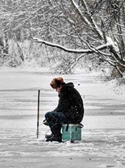 Рыбалка зимой на мормышку