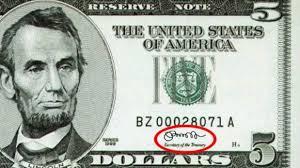 Nueva firma del dólar