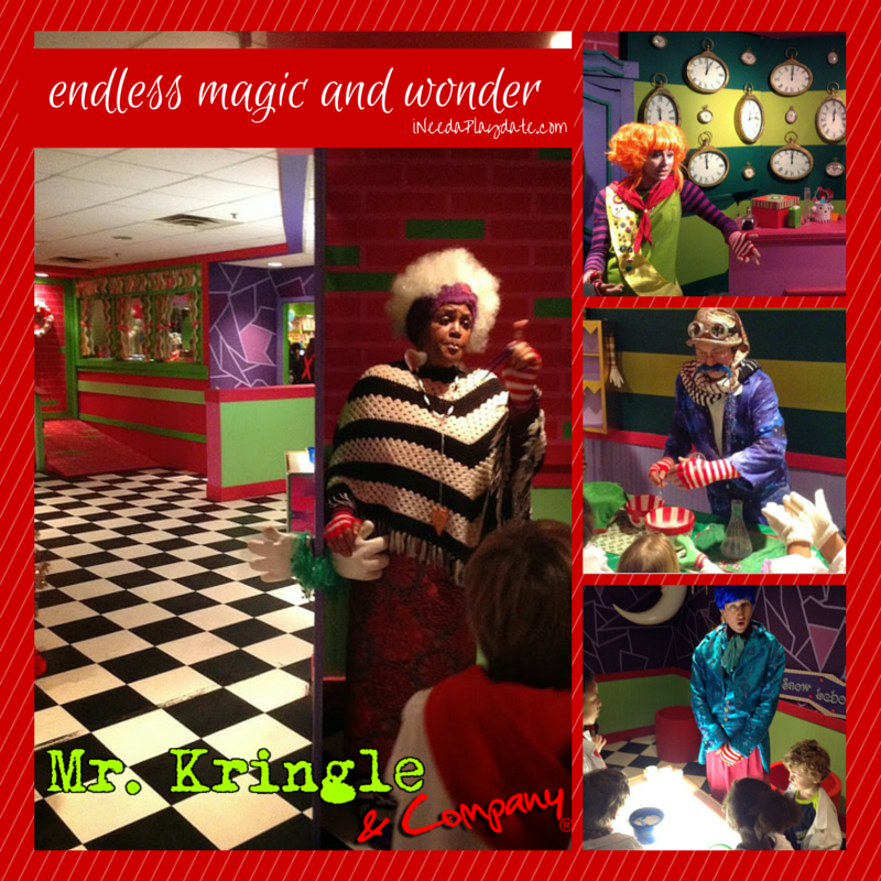 A Night Out With Mr. Kringle