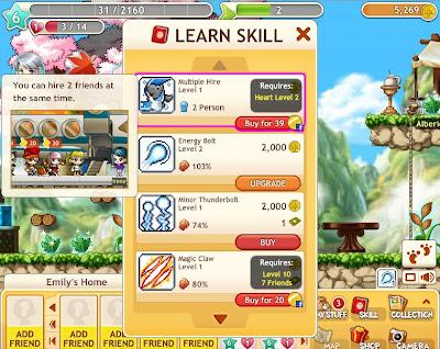 MapleStory Adventures - Skills