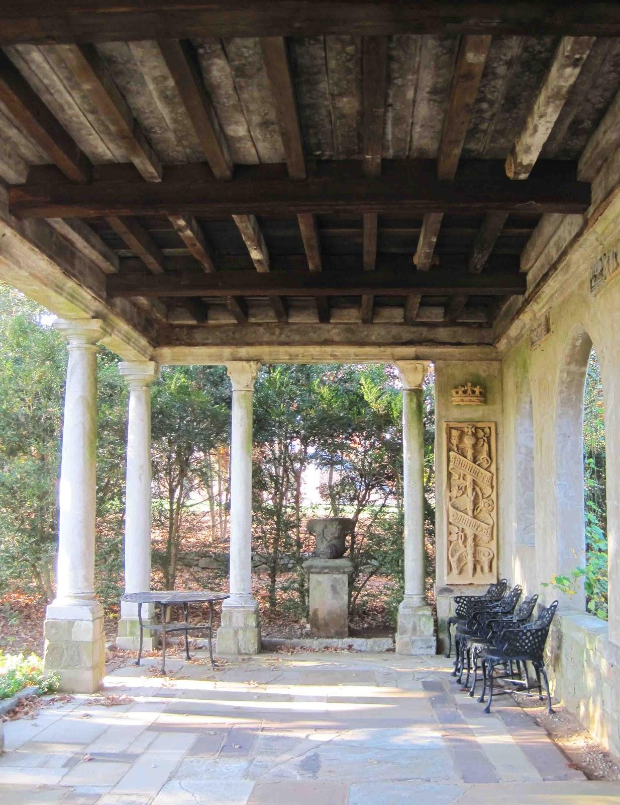 Architect design virginia house richmond for Garden loggia designs