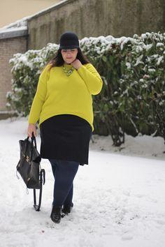 Ideas de moda invierno 2018 para gorditas