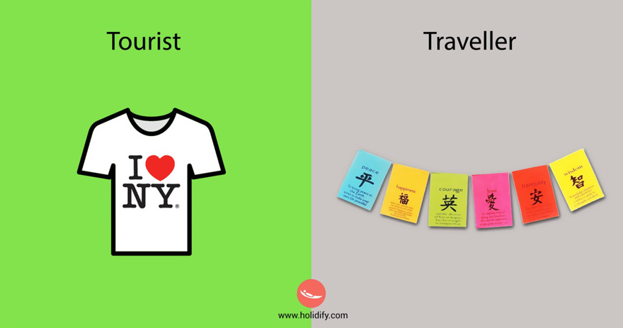 #6 Tourist Vs Traveller - 10+ Differences Between Tourists And Travellers