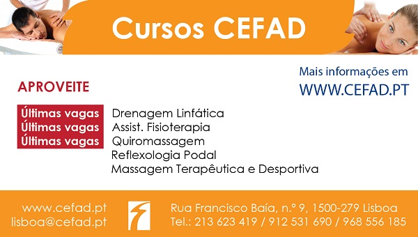 Cursos de Massagem no CEFAD