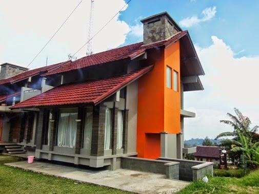 Villa F-9 istana bunga Lembang