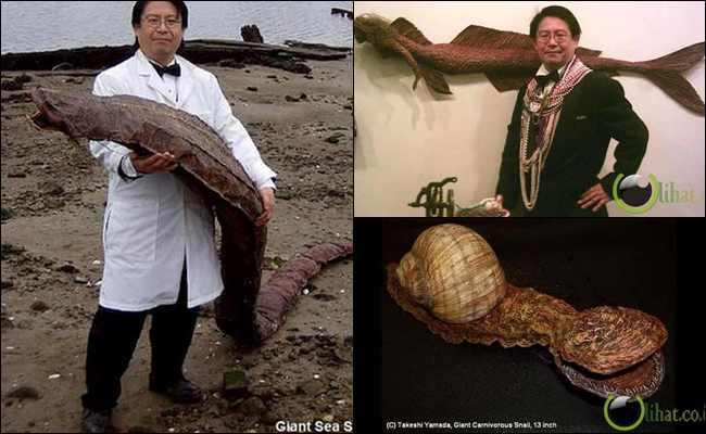 10 Makhluk Luar Biasa Aneh yang Ditemukan Dr.Takhesi Yamada